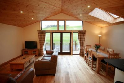 Lodge Accommodation Living Room